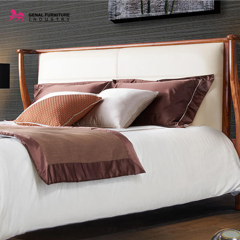 Best Restlay Classic Ebony Solid Wood King Size Bed Frame
