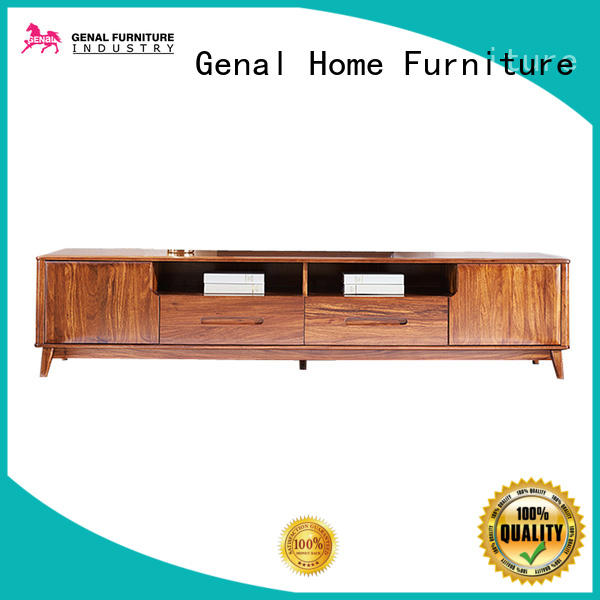 Genal High-quality wooden tv cabinet manufacturers