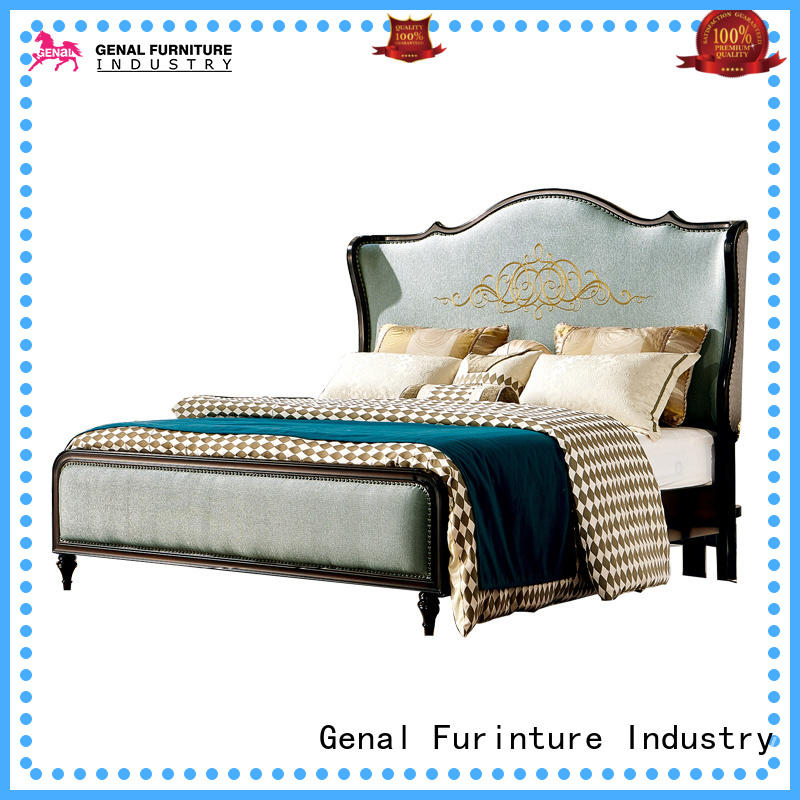 Best leather king size bed Supply