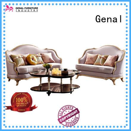 Custom leather sofa set for business