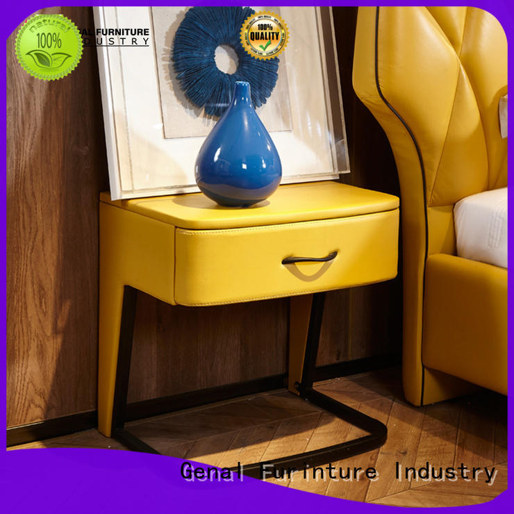 Genal Latest bedroom side tables manufacturers