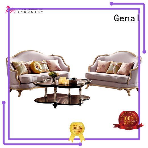 Genal New leather sectional sofa factory