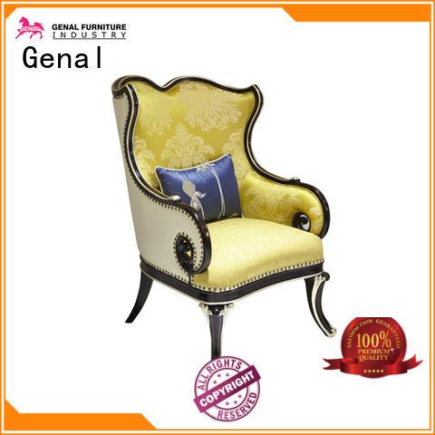 Genal Latest leather sofa set factory