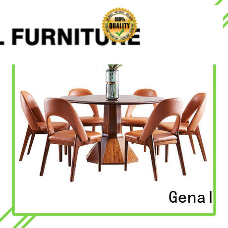 Genal round dining table and chairs Supply