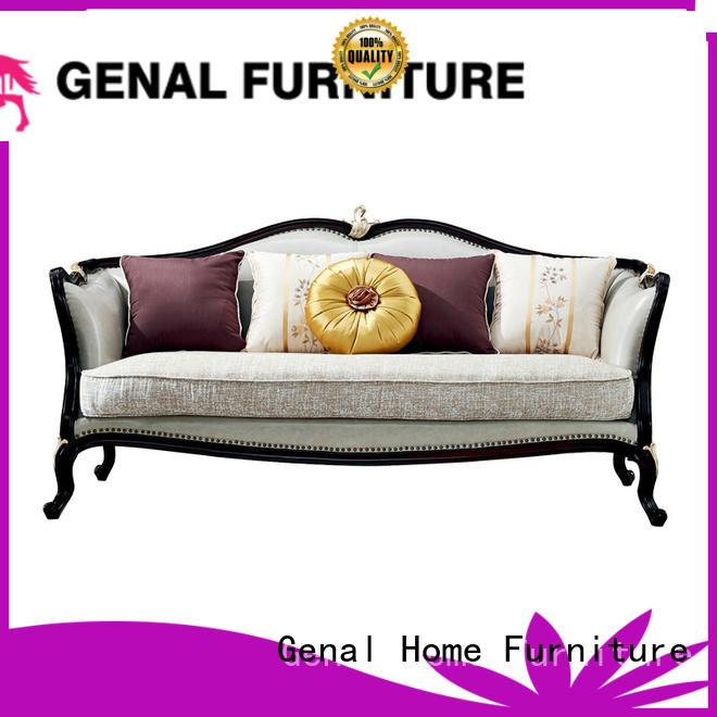 Genal leather sectional sofa for business