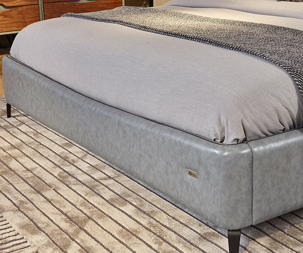 Genal Best leather double bed Suppliers-4