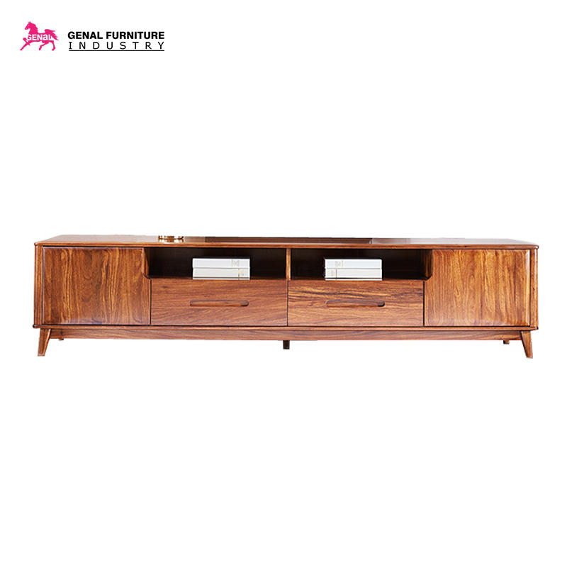 Custom wooden tv cabinet for business