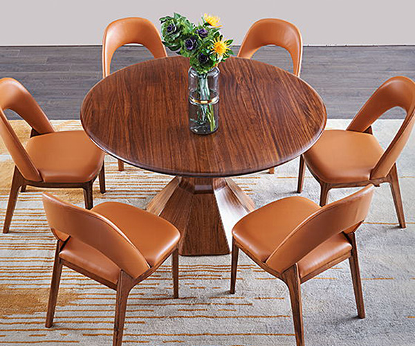 Genal dining table and 6 chairs company-7