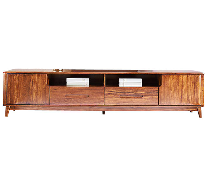 Custom wooden tv cabinet for business-3