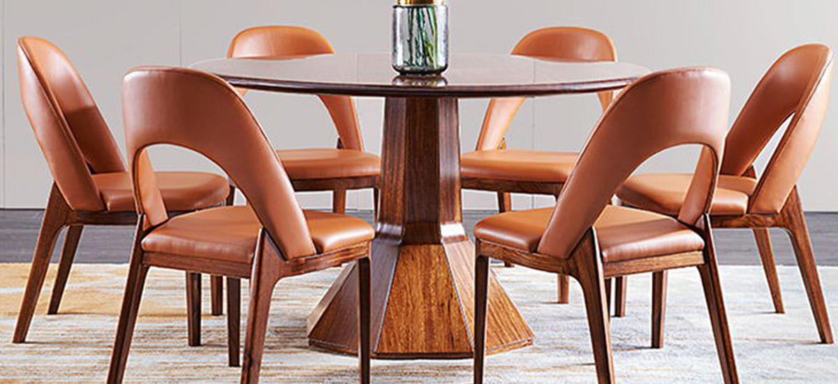 Genal dining table and 6 chairs company-1