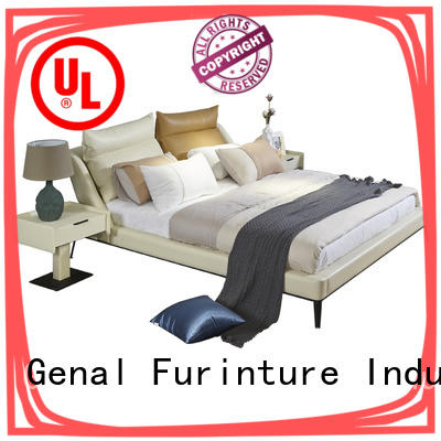 High-quality leather double bed manufacturers